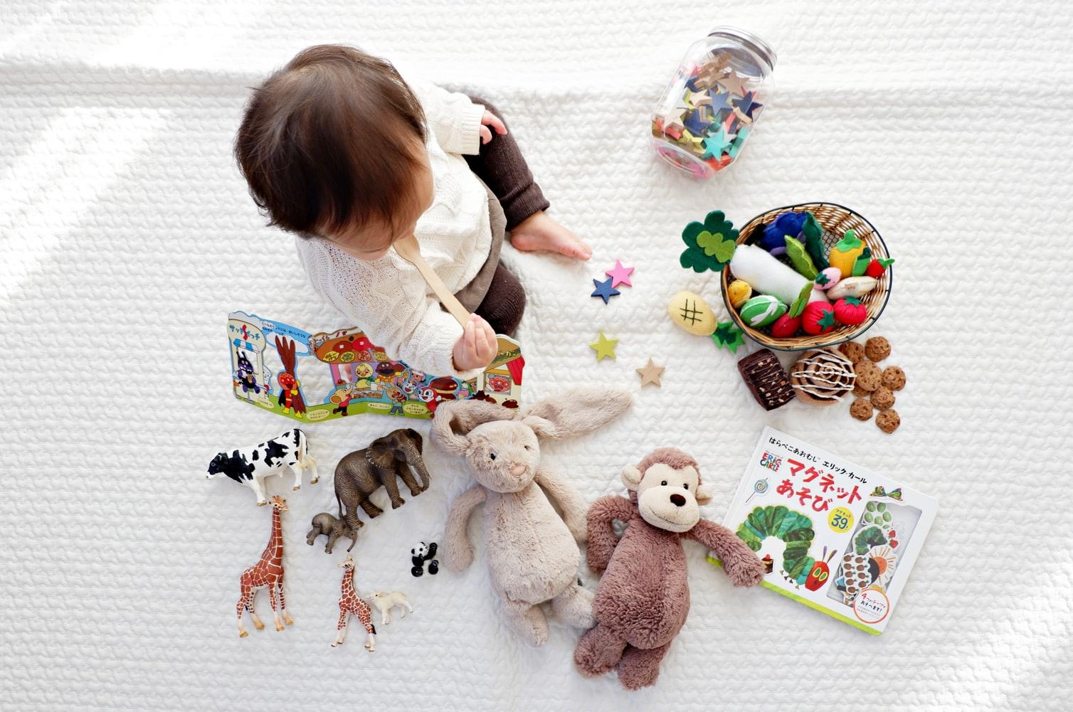 Curiosidade e vontade de brincar